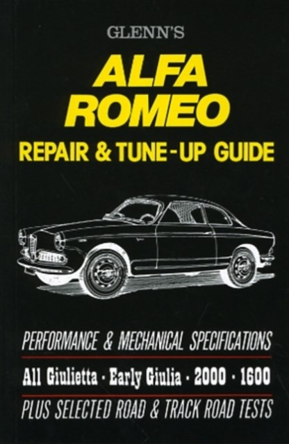 Alfa Romeo Repair and Tune-up Guide