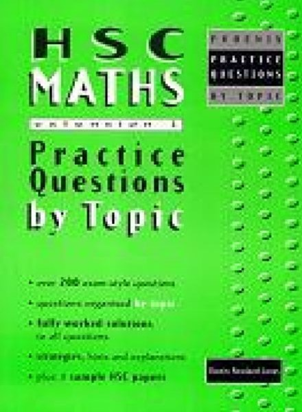 HSC Maths Extension 1