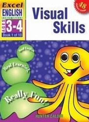 Excel Early Skills English Book 1: Visual Skills Ages 3–4
