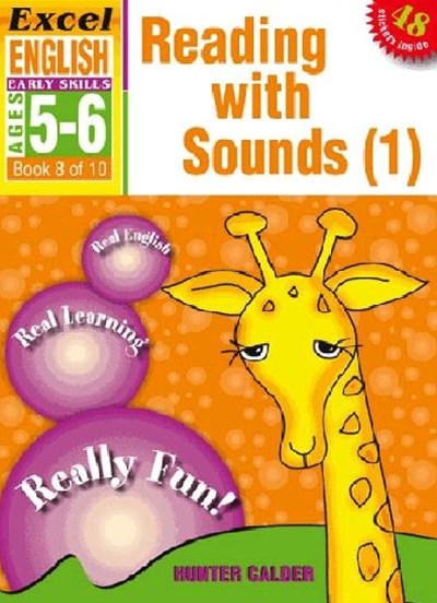 Excel Early Skills English Book 8: Reading with Sounds 1 Ages 5GÇô6