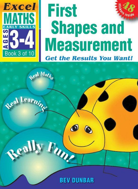 Excel Early Skills Maths Book 3: First Shapes and Measurement Ages 3GÇô4