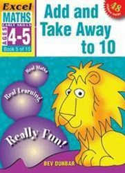 Excel Early Skills Maths Book 5: Add and Take Away to 10 Ages 4–5