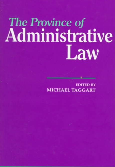 Province of Administrative Law