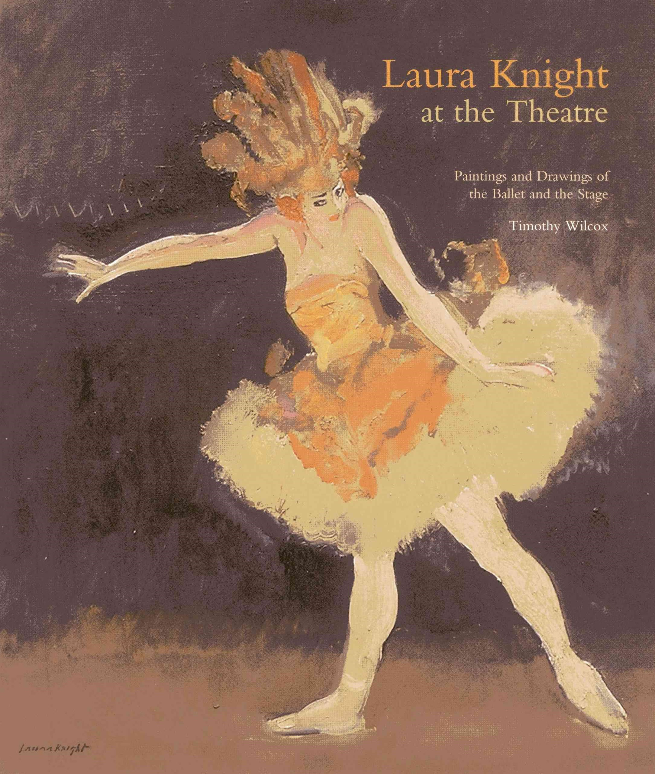 Laura Knight at the Theatre
