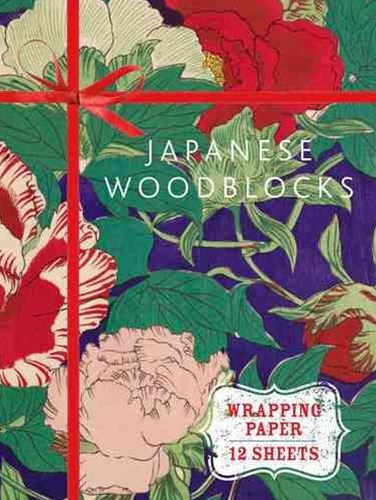 Japanese Woodblock Prints: From Glasgow Museums - Wrapping Paper
