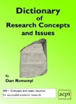 Dictionary of Research Concepts and Issues