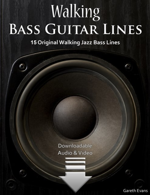 Walking Bass Guitar Lines