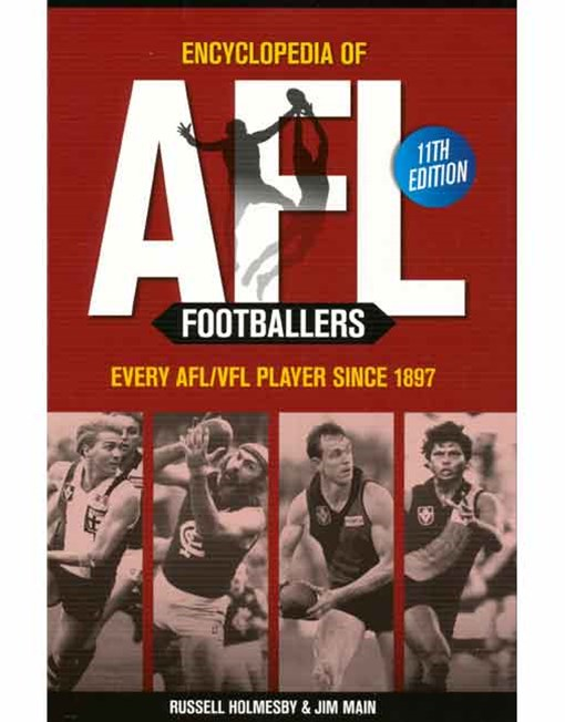 Encyclopedia of AFL Footballers 11th Edition