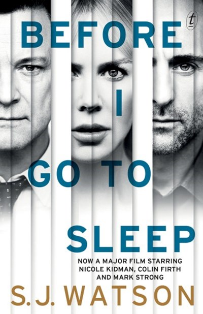 Before I Go To Sleep film tie-in