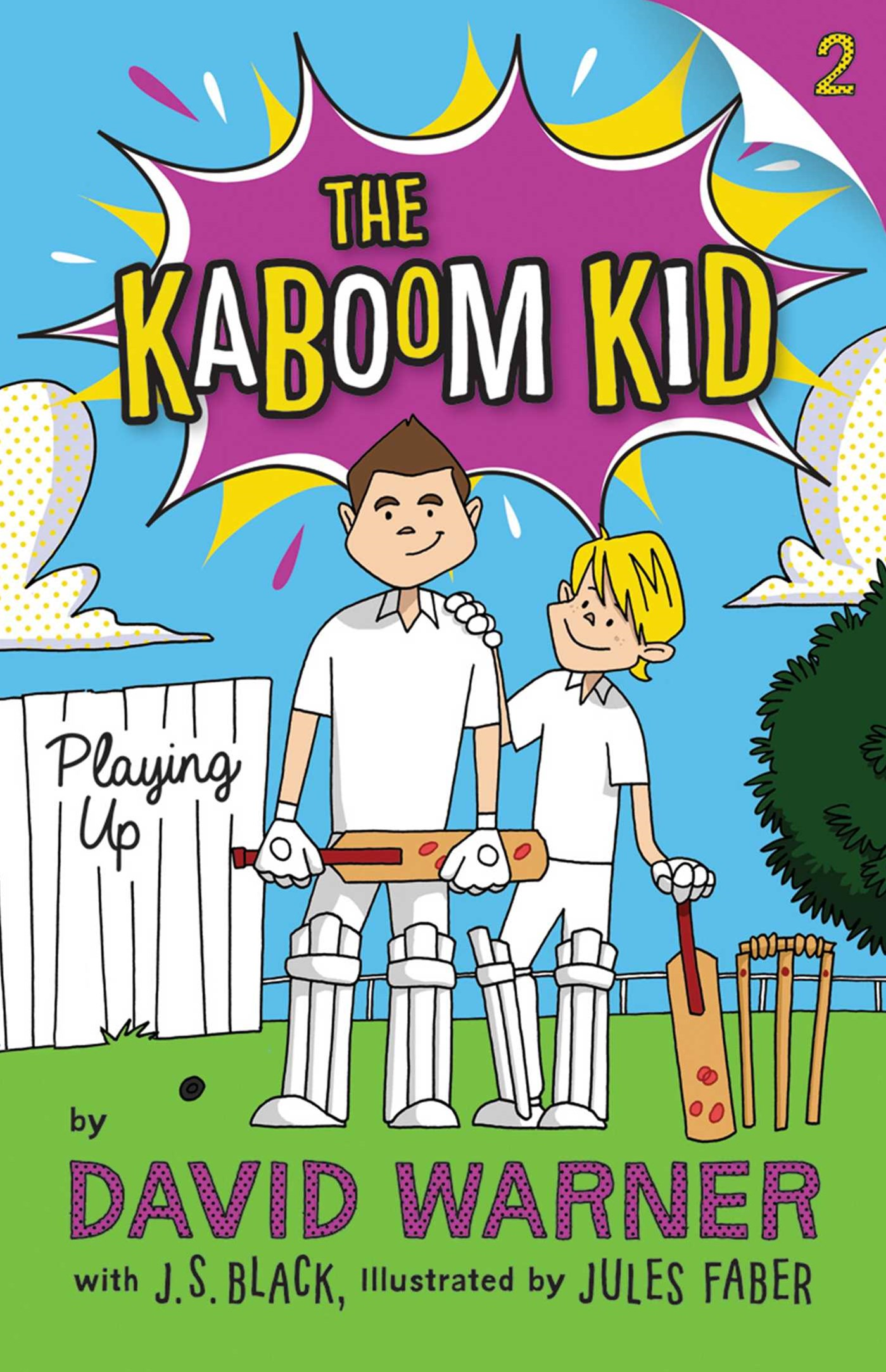 Playing Up (Kaboom Kid Book 2)