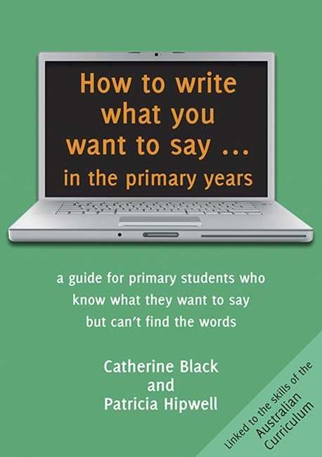 How to write what you want to say in primary years