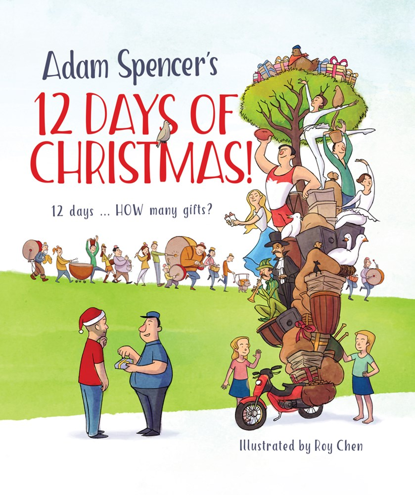 Adam Spencers 12 Days of Christmas!