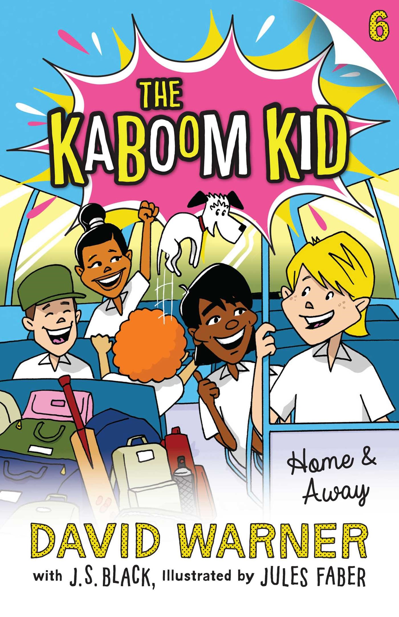 Home and Away (Kaboom Kid Book 6)