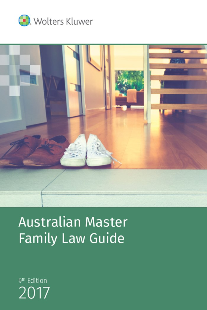 Australian Master Family Law Guide - 2017