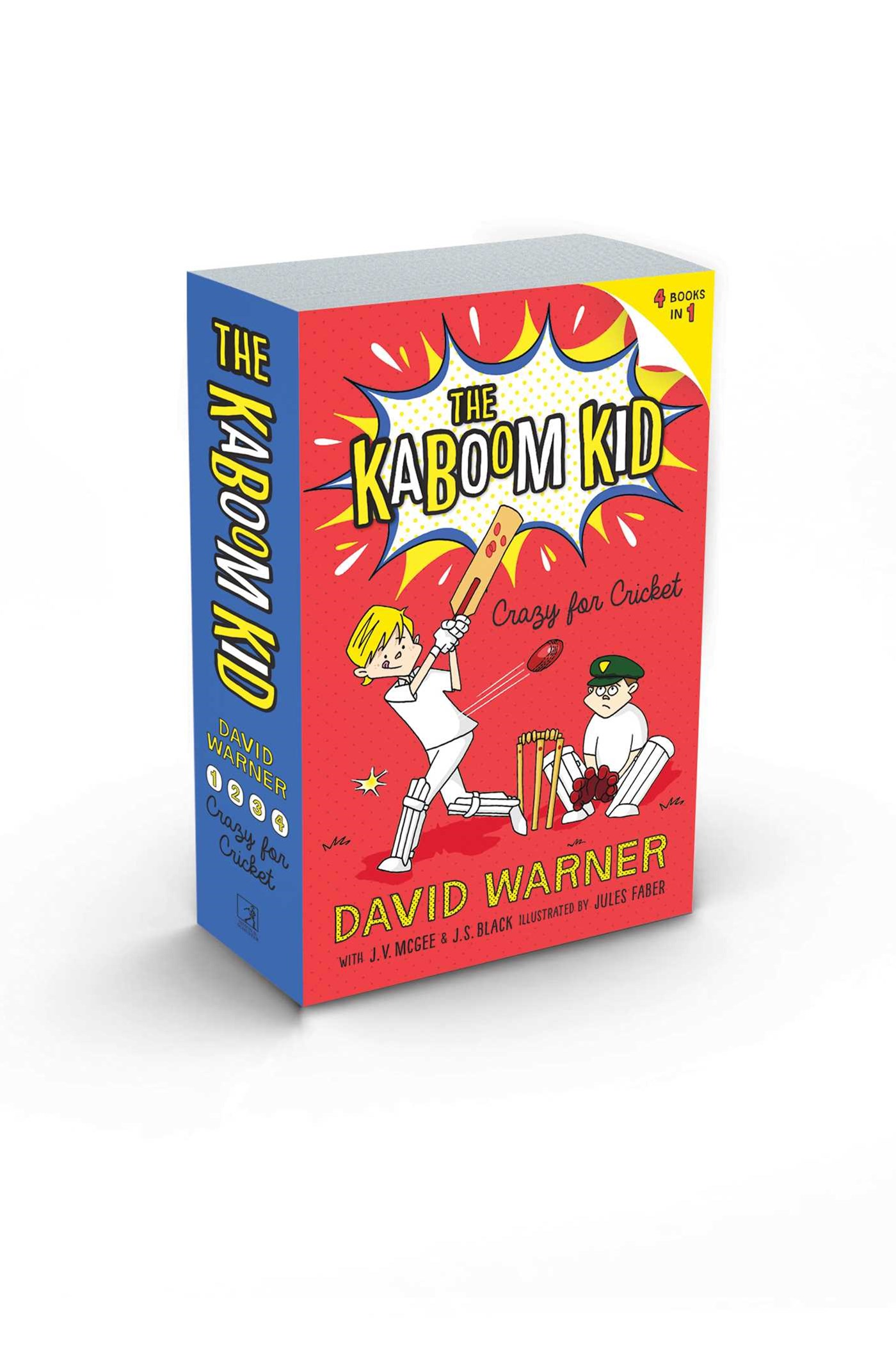 Crazy for Cricket: The Kaboom Kid Books 1-4