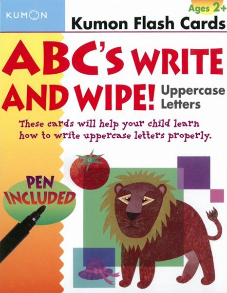 ABC's Write and Wipe Uppercase Letters