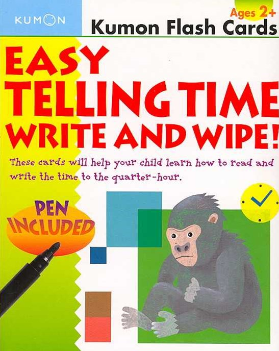 Easy Telling Time Write & Wipe