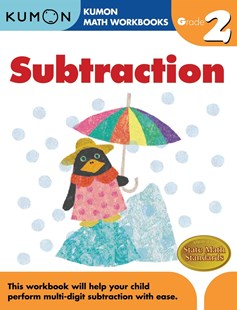 Grade 2 Subtraction by KUMON PUBLISHING (9781933241524) - PaperBack - Non-Fiction