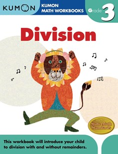 Grade 3 Division by KUMON PUBLISHING, Eno Sarris (9781933241555) - PaperBack - Non-Fiction