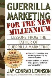 Guerrilla Marketing for the New Millennium by Jay Conrad Levinson (9781933596075) - PaperBack - Business & Finance Sales & Marketing