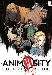 Animosity Coloring Book by Marguerite Bennett (9781935002635) - PaperBack - Graphic Novels Comics