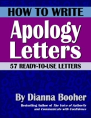 How to Write Apology Letters
