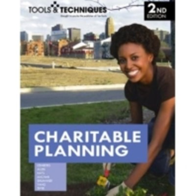 Tools & Techniques of Charitable Planning