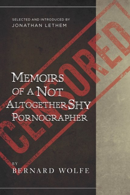 Memoirs of a Not Altogether Shy Pornographer