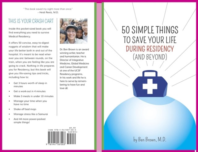 (ebook) 50 Simple Things to Save Your Life During Residency
