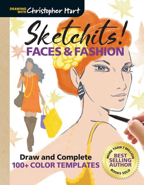 Sketchits! Faces & Fashion