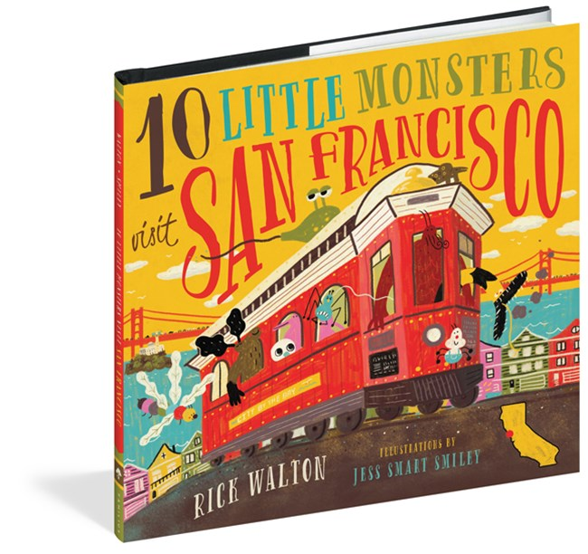 10 Little Monsters Go to San Fransisco