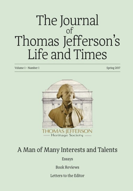 Journal of Thomas Jefferson's Life and Times