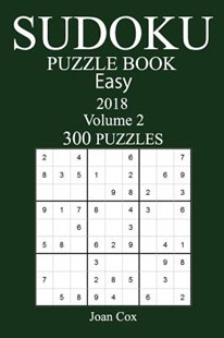 300 Easy Sudoku Puzzle Book 2018 by Joan Cox (9781973935889) - PaperBack - Craft & Hobbies Puzzles & Games