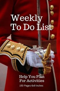 Weekly to Do List by Pie Parker (9781974355877) - PaperBack - Self-Help & Motivation