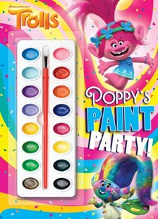 Poppy's Paint Party! by Rachel Chlebowski, Golden Books Publishing Company (9781984850607) - PaperBack - Non-Fiction Art & Activity