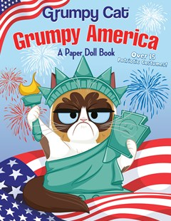 Grumpy America: A Paper Doll Book (grumpy Cat) by Random House, Mj Illustrations (9781984851352) - PaperBack - Children's Fiction