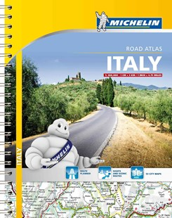 Michelin Italy Road Atlas by Michelin Travel Publications (9782067192454) - PaperBack - Reference Atlases