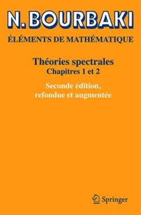 Théories spectrales by N. Bourbaki (9783030140632) - PaperBack - Science & Technology Mathematics