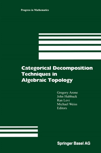 Categorical Decomposition Techniques in Algebraic Topology