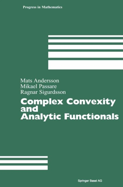 Complex Convexity and Analytic Functionals