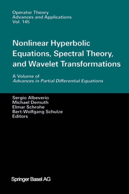 Nonlinear Hyperbolic Equations, Spectral Theory, and Wavelet Transformations