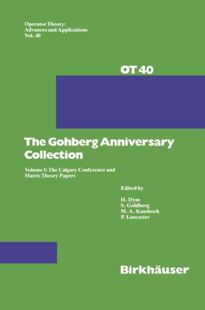 (ebook) Gohberg Anniversary Collection