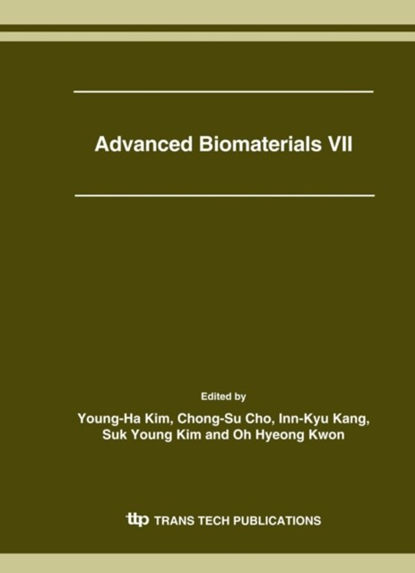 Advanced Biomaterials VII