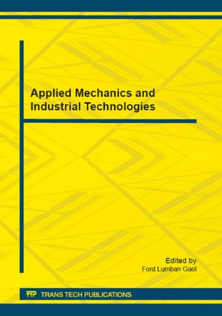 (ebook) Applied Mechanics and Industrial Technologies