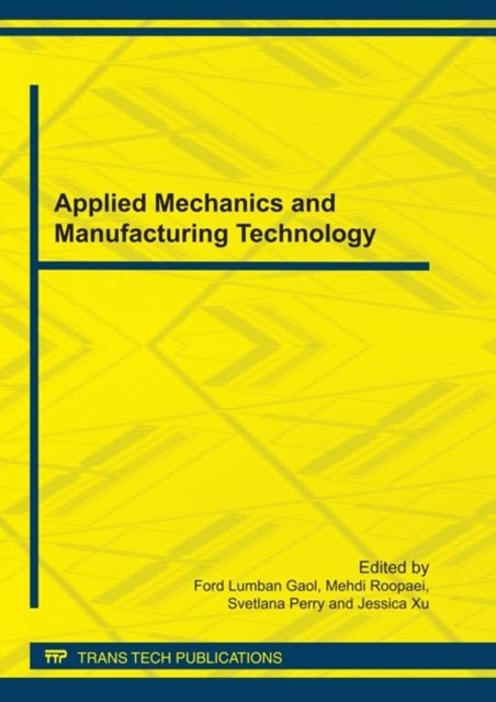 (ebook) Applied Mechanics and Manufacturing Technology