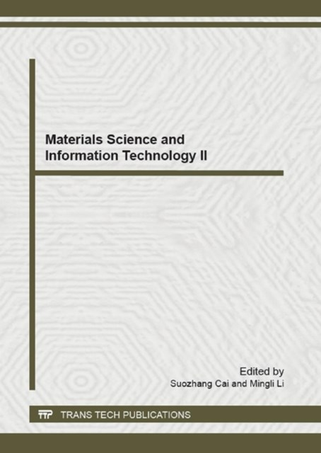 Materials Science and Information Technology II