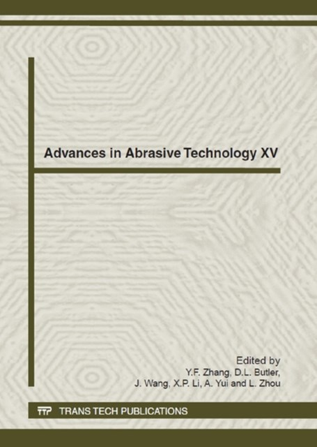 Advances in Abrasive Technology XV