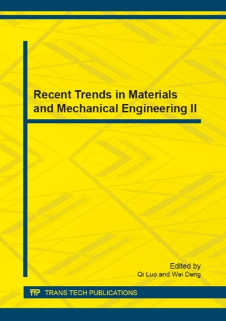 (ebook) Recent Trends in Materials and Mechanical Engineering II