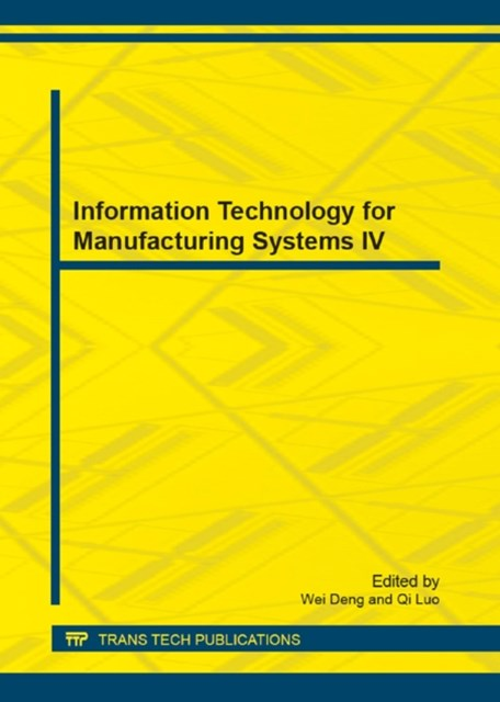 (ebook) Information Technology for Manufacturing Systems IV