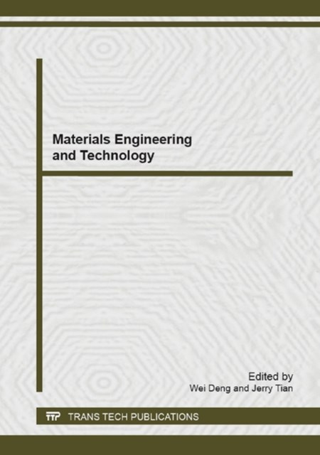 (ebook) Materials Engineering and Technology